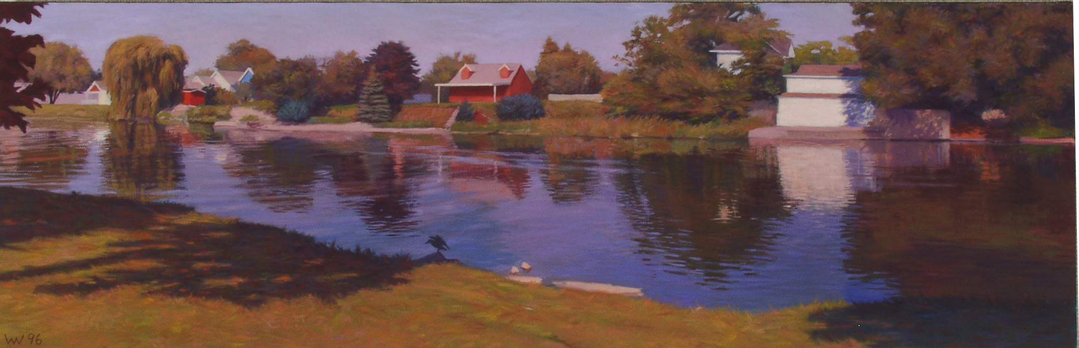 """Sheboygan River"" William Weidner Opens in new window"