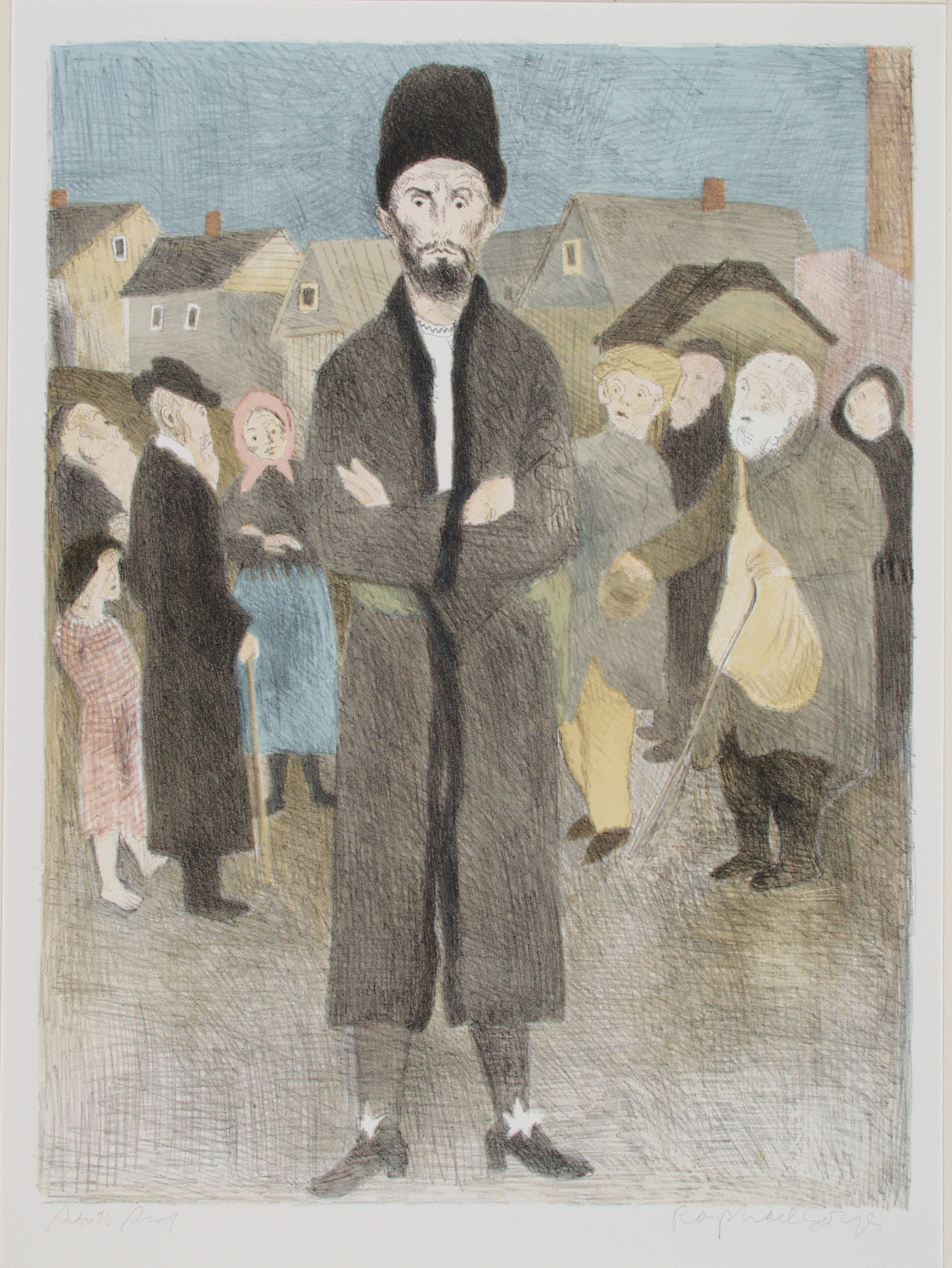 """Dreams"" Gentelman From Krakow"" Raphael Soyer Opens in new window"