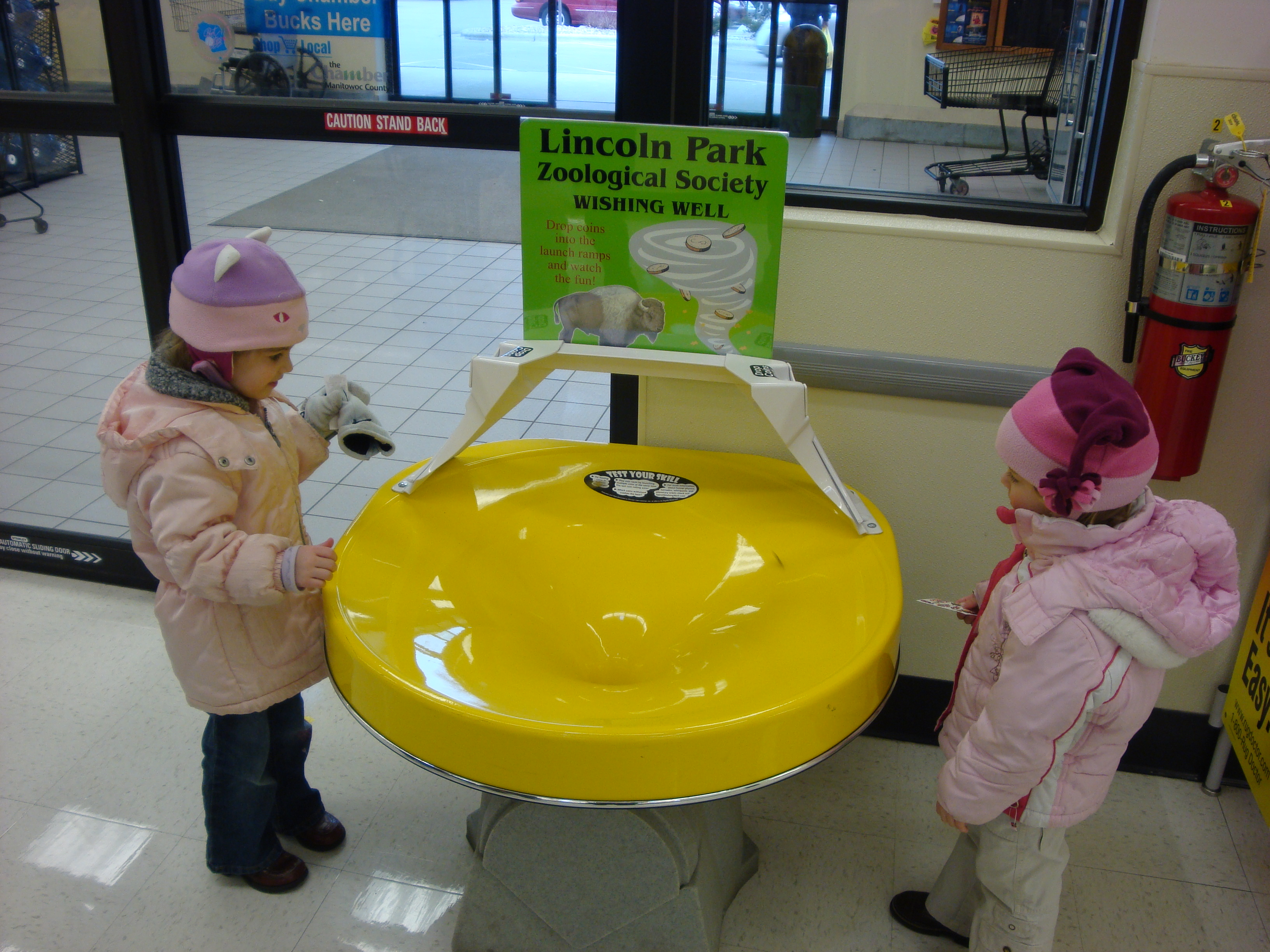 Wishing Well at Educational Center